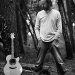 Alistair Goodwin - standing tree guitar bw
